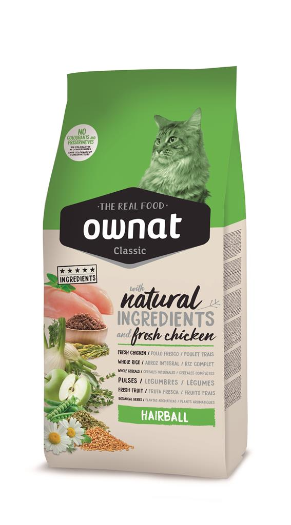 OWNAT Classic Hairball 1,5 kg.