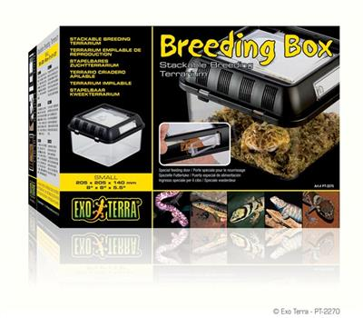 ExoTerra Breeding box Small 20,5 x 20,5 x 14 cm.