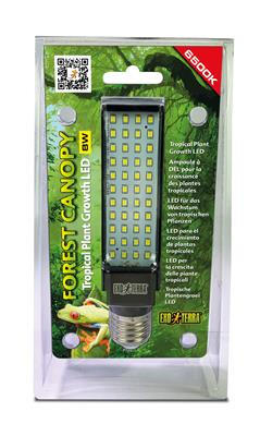 ExoTerra Forest Canopy LED PLANT 6500K, 8W