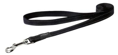 FANBELT FIXED LINE 20mm 140cm SORT REFLECTIVE