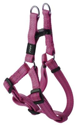 SNAKE STEP IN SELE 16mm 42-61cm PINK REFLECTIVE