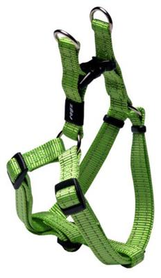 SNAKE STEP IN SELE 16mm 42-61cm LIME REFLECTIVE